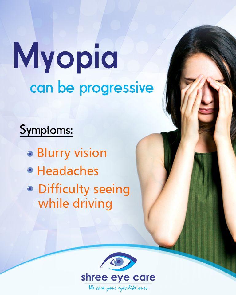 Myopia Eye Care Care Hospital Blurry Vision Headache