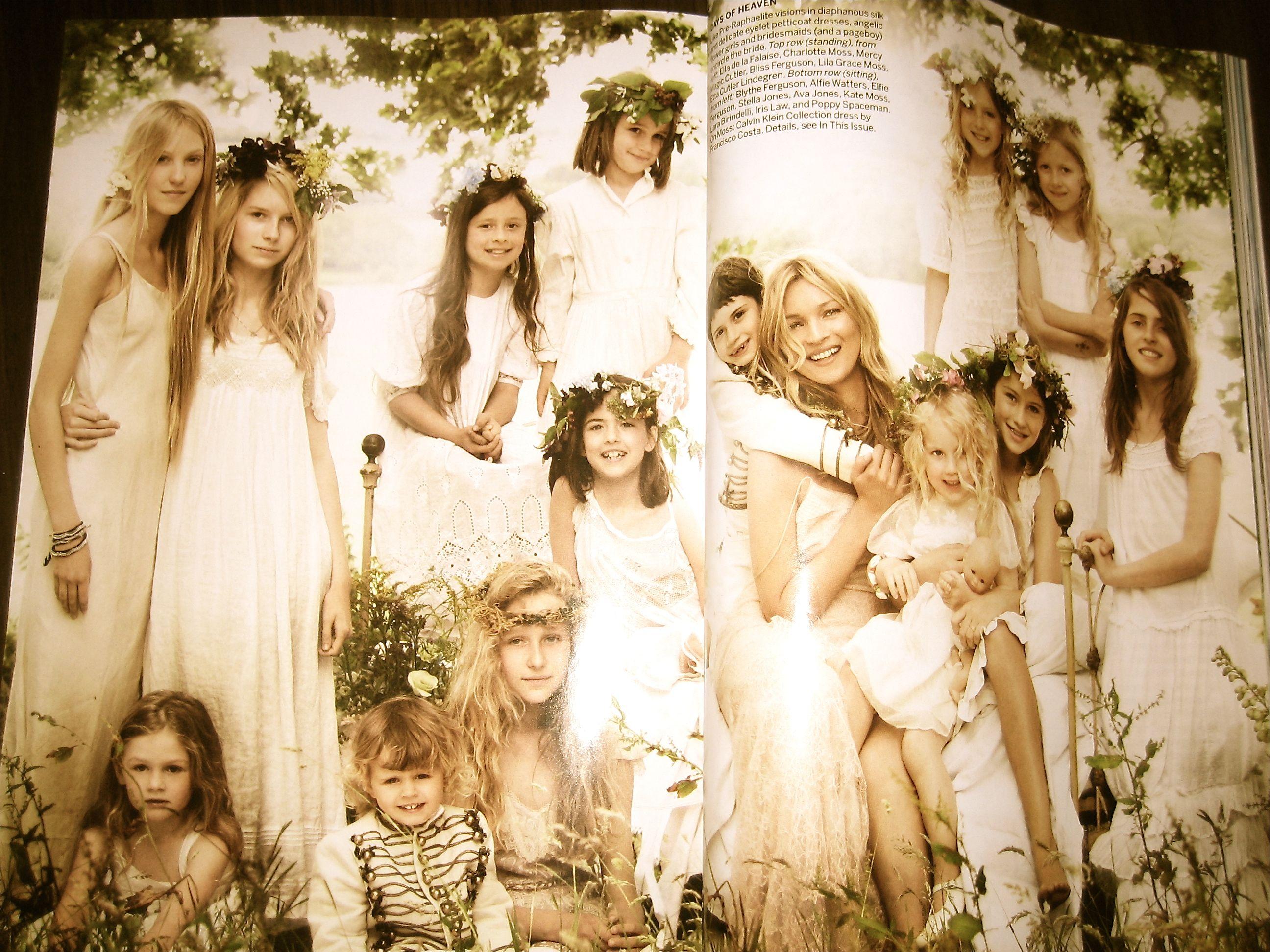 Kate Moss Wedding - Vogue Wedding Guide