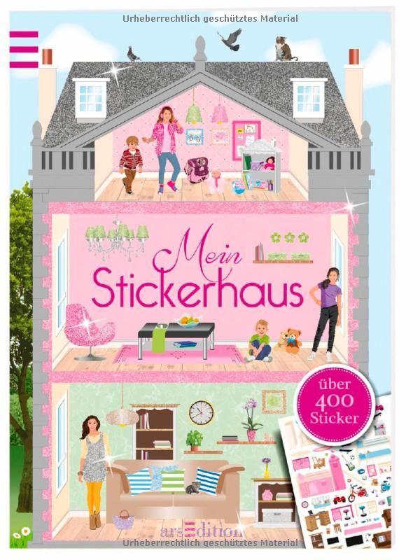 Mein Stickerhaus (Mein Stickerbuch): Amazon.de: Ingrid Bräuer: Bücher