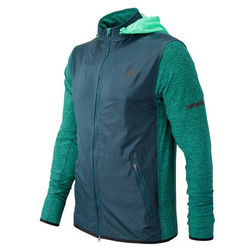 new balance green jacket