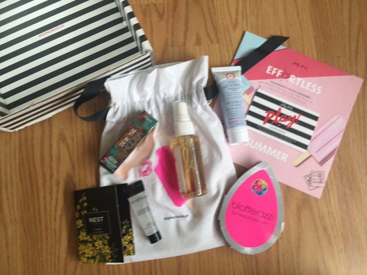 Play! by Sephora - July 2016 Review