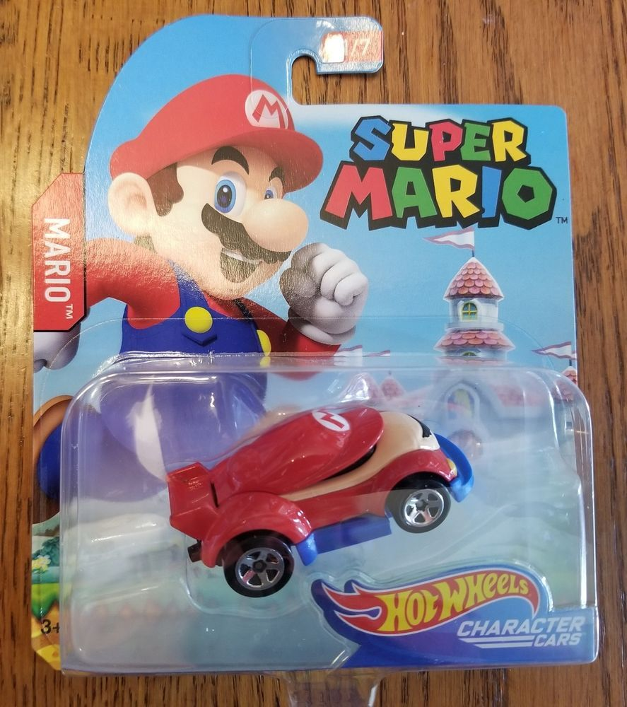 New Hot Wheels Super Mario Character Car Toy In Hand Rare Nintendo Toys Hobbies Diecast Toy Vehicles Cars Truck Car Wheels Rims Wheel Craft Car Wheels