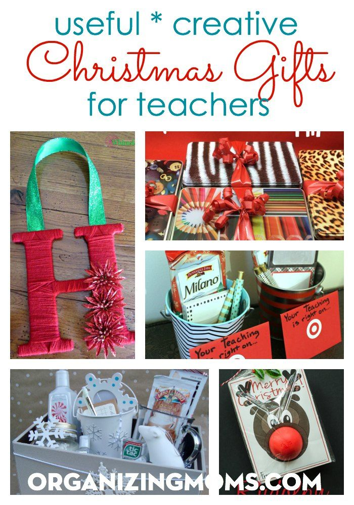 Useful Creative Christmas Gifts For Teachers Thrifty