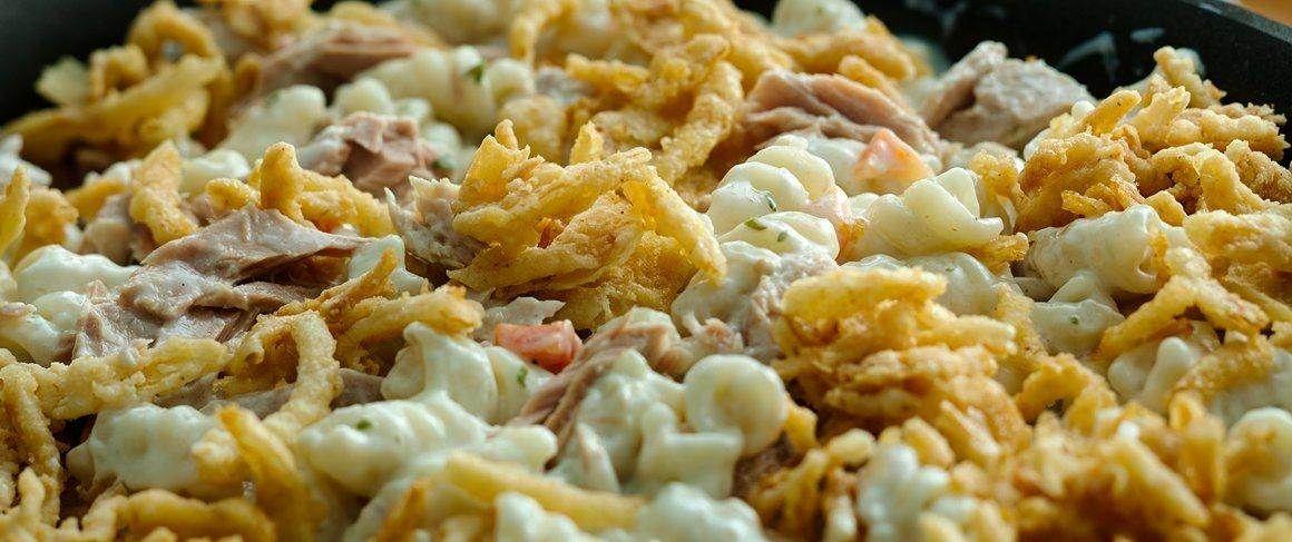 crunchy ranch tuna pasta   recipe   tuna pasta, recipes