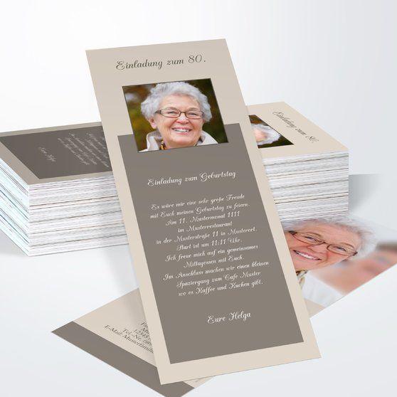 lebensfreude 80 | einladungskarten 80. geburtstag