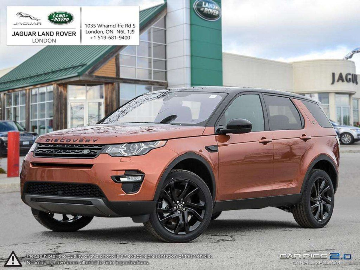 New Land Rover Inventory In London Land Rover Discovery Sport