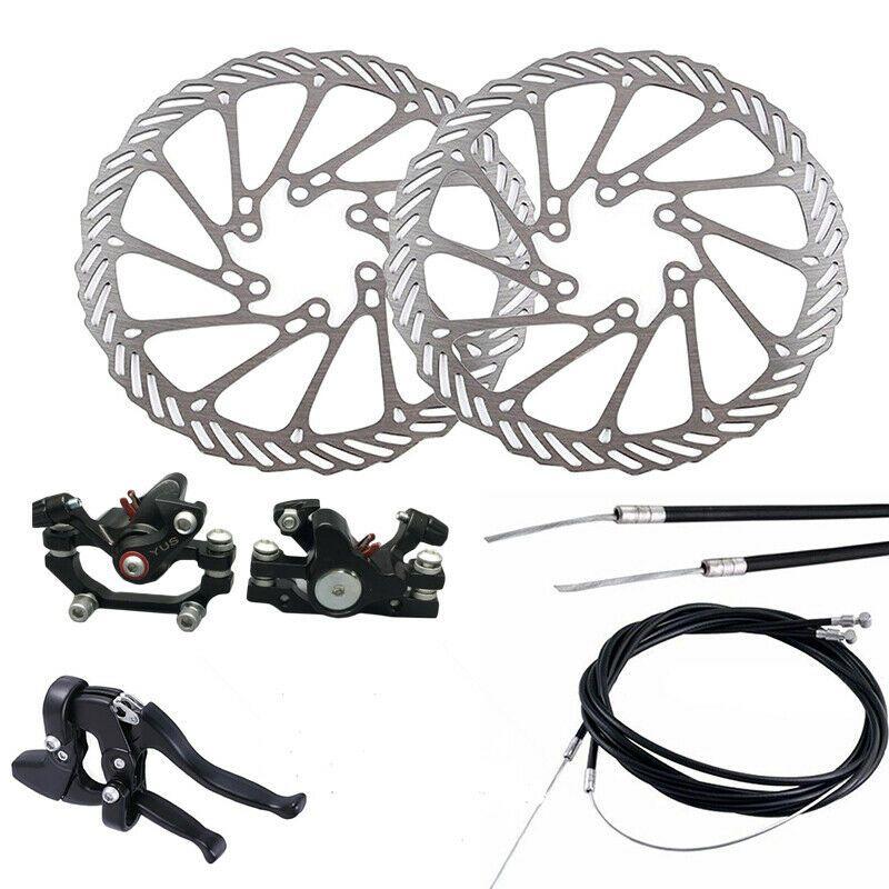 Sponsored Ebay Mountain Bike Disc Brake Front Rear Set