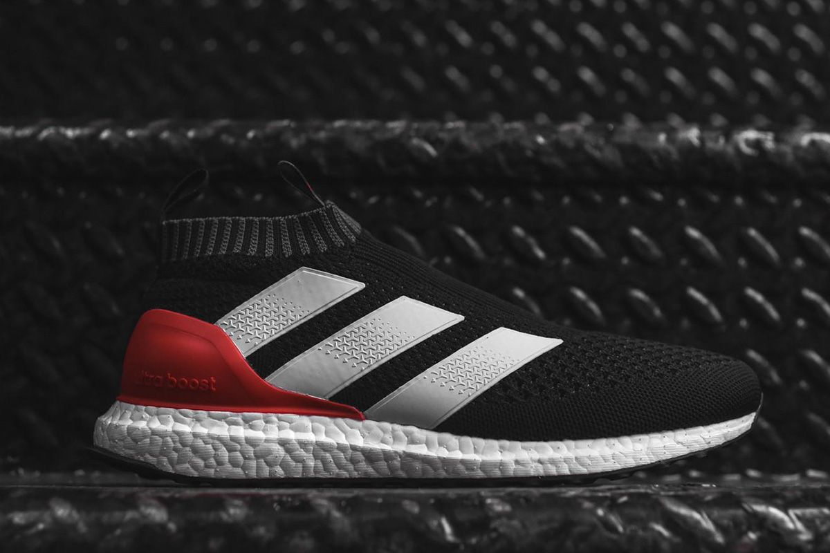 Adidas Ace 17 Pure Control Ultra Boost Releasing In Black White Red Sneaker Magazine Adidas Boots Sneakers
