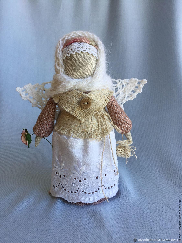 Кукла оберег ангел хранитель