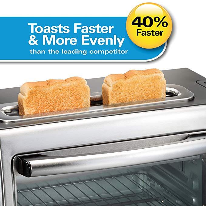 Amazon Com Hamilton Beach Toastation 2 Slice Toaster And