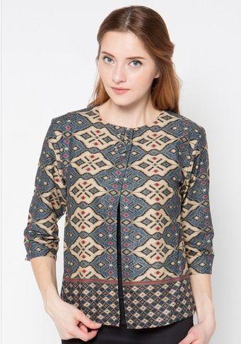 31 Model Baju Batik Modern Terbaru Desain Blus Model Dan
