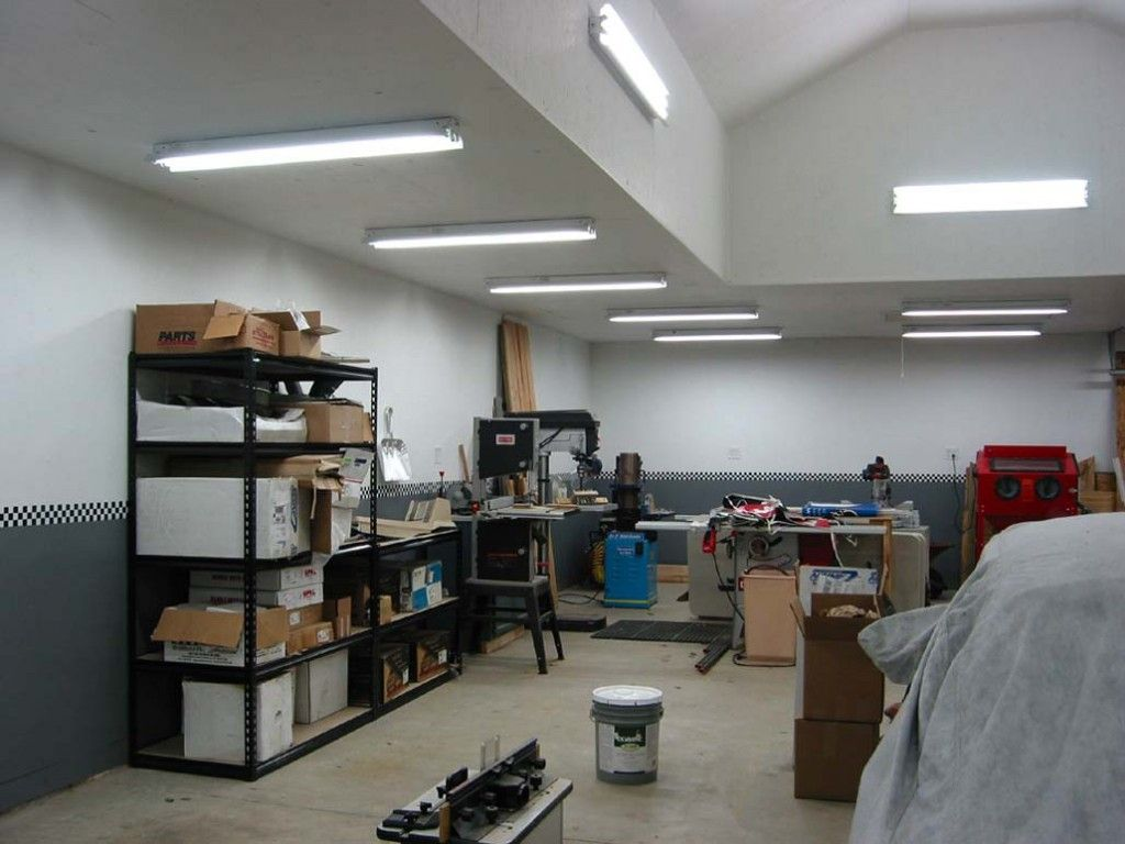 large garage lighting ideas | Garage Lighting | Home | Garage lighting, Led shop lights ...