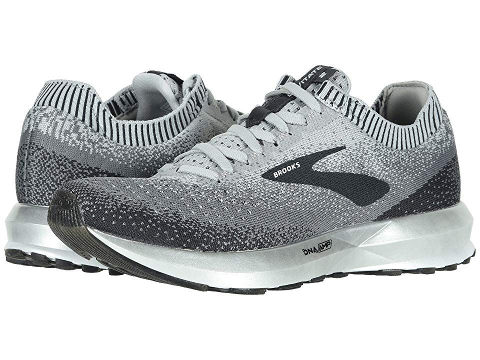 ebb4087b9f4 Brooks Levitate 2 (Grey Ebony White) Women s Running Shoes. The Brooks  Levitate 2 running shoe is designed with the highest energy return possible  so you ...