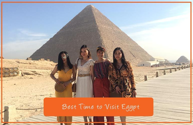 When Is The Best Time To Visit Egypt Best Time To Tour Egypt Visit Egypt Egypt Tours Egypt