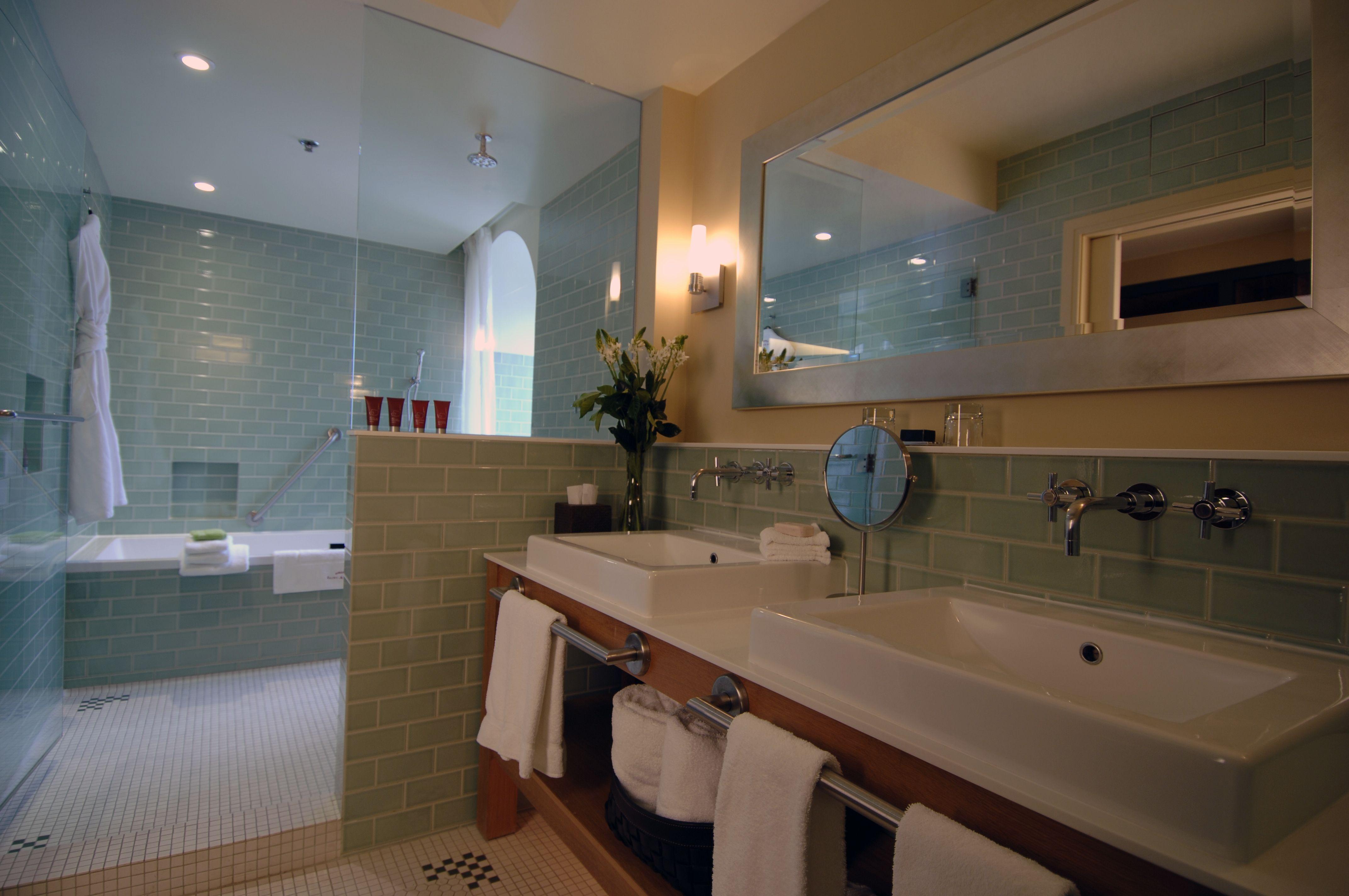 beautiful bathroom of a auberge saint antoine s room magnifique