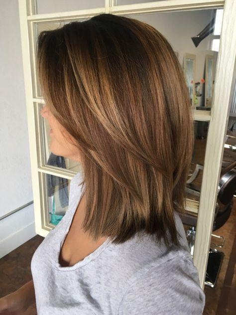 50 Hottest Easy Medium Length Hair Trends In Every Color For 2019 Page 25 Color Mittellange Haare Frisuren Einfach Kurzhaarfrisuren Haarschnitt