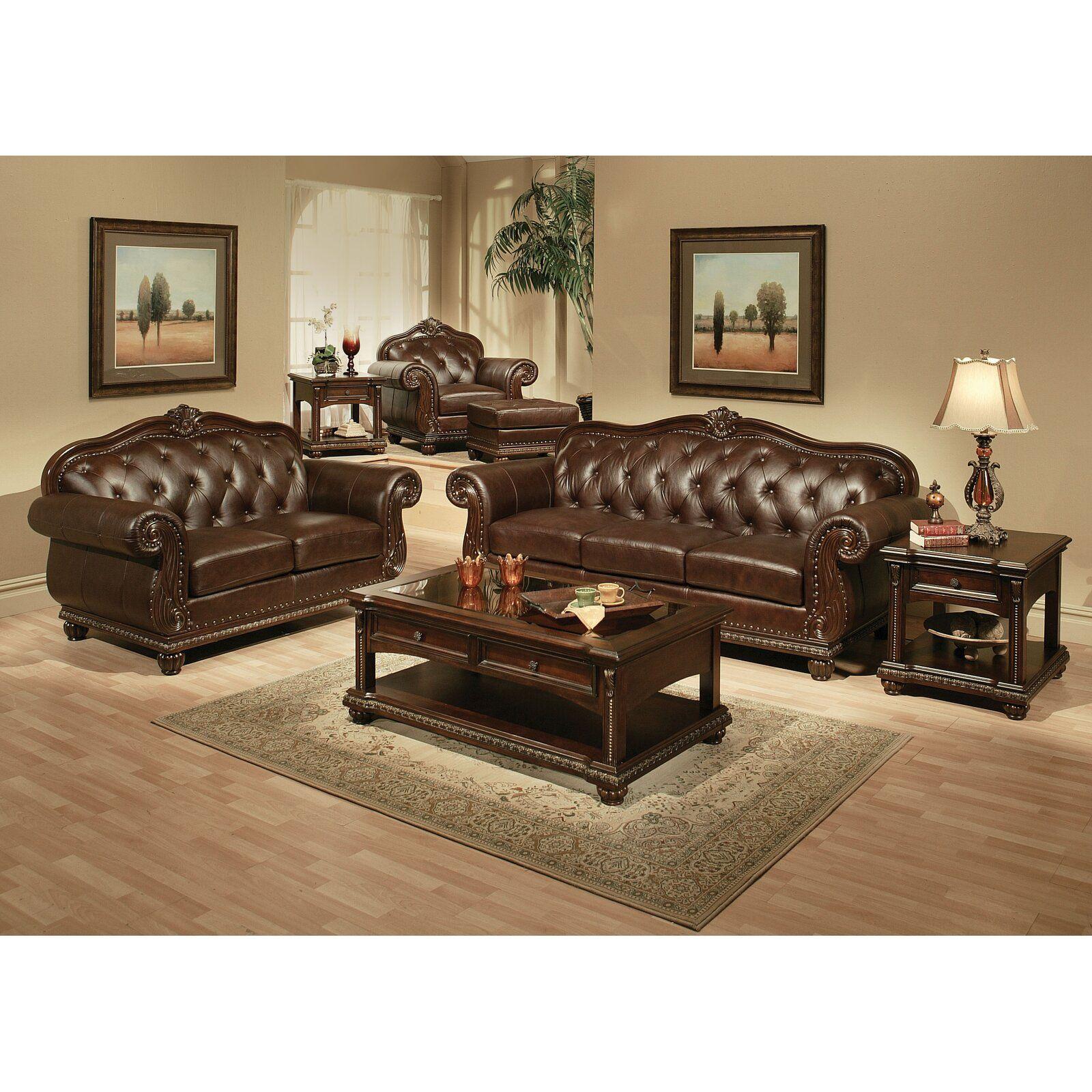 Astoria Grand Wentz Armchair  Wayfair  Leather living room set