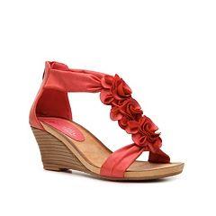:: DRESS ATTIRE :: Patrizia by Spring Step Harlequin Wedge Sandal