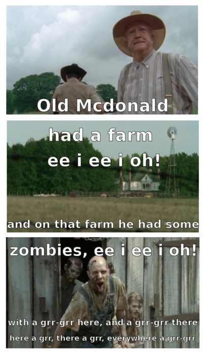 The Walking Dead My Lil Twd And Zombie Meme A Thon Walking