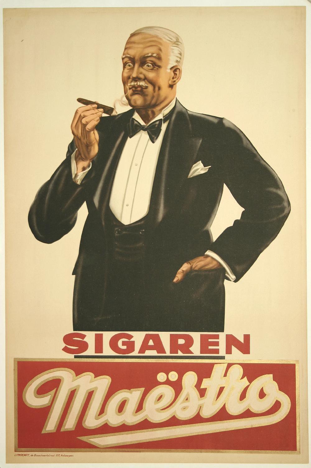 Vintage Advertising Posters Cigars Cigars Vintage