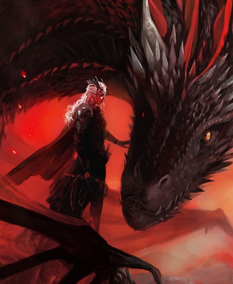 Warriors Fire And Ice Book: Daenerys Targaryen Game Of Thrones Dragons Dragón Queen Of