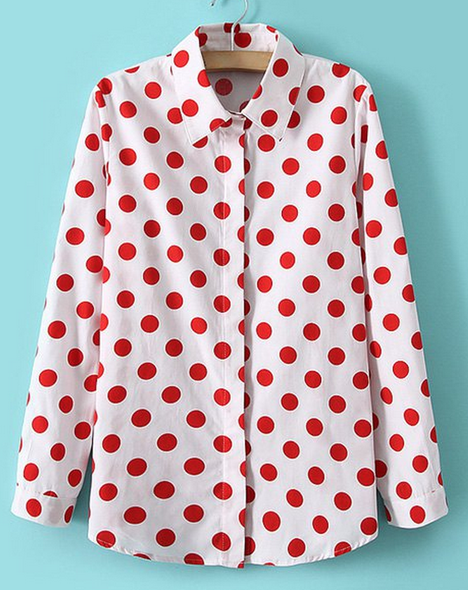 5bc063e63d973 cute polka dot blouse