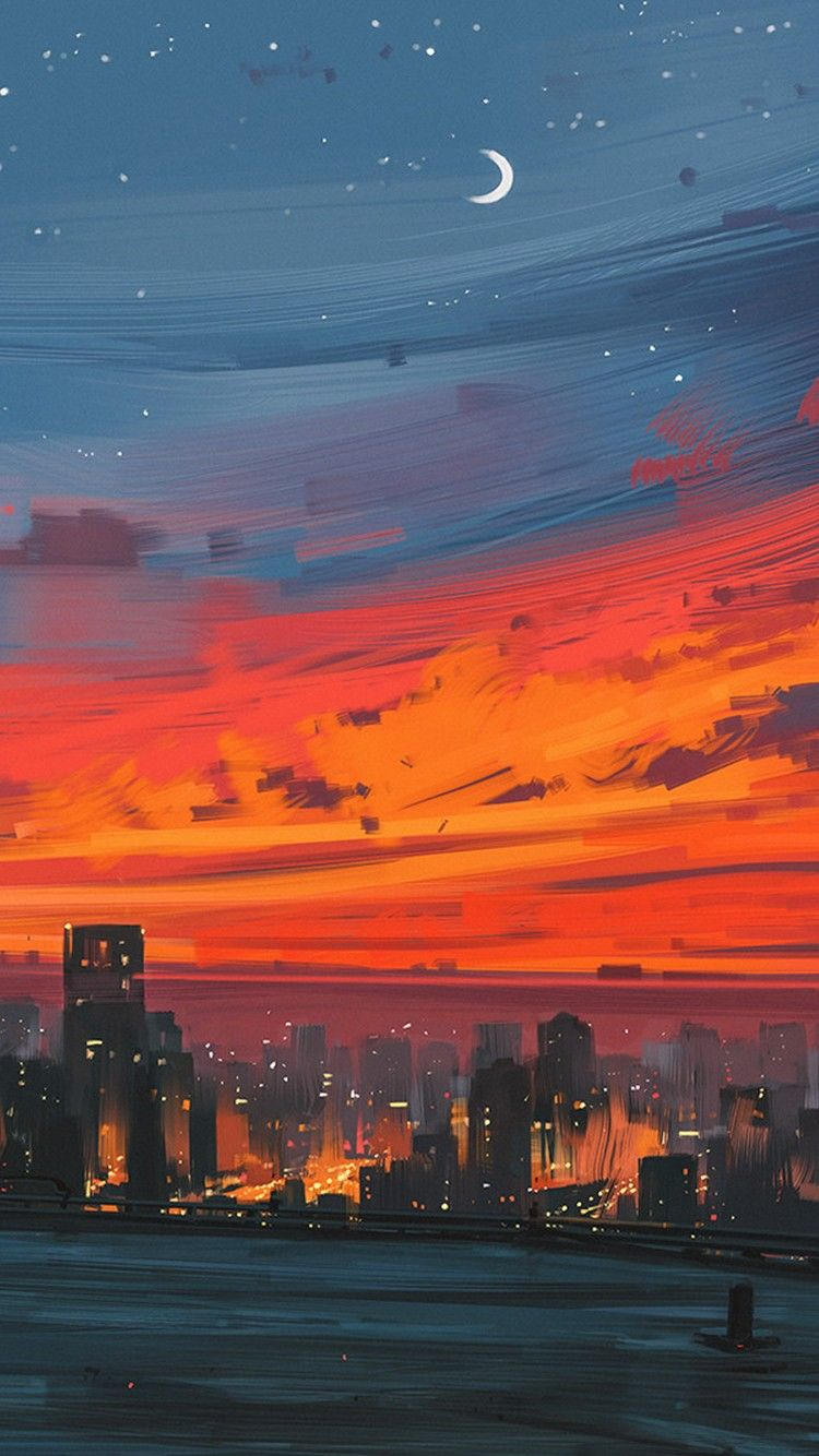 Fairlinnard In 2020 Anime Scenery Wallpaper Scenery Wallpaper City Art