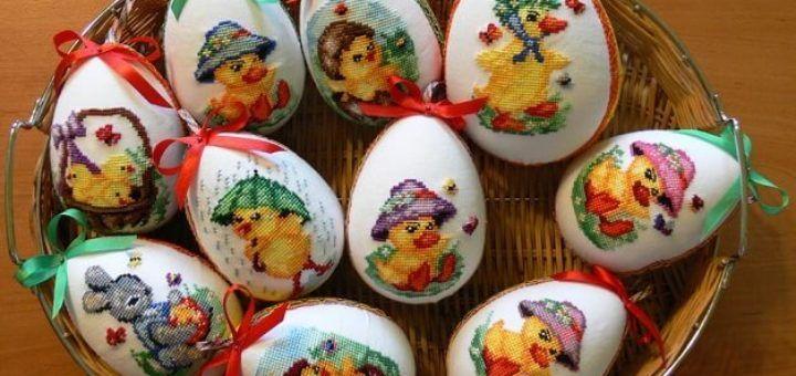 Роспись пасхальных яиц горячим воском | Пасхальные яйца ...