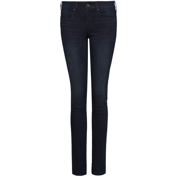 MANGO Super slim jeans ($70) ❤ liked on Polyvore featuring jeans, pants, bottoms, mango, dark autumn, dark denim, slim jeans, slim cut jeans, mango jeans and dark jeans
