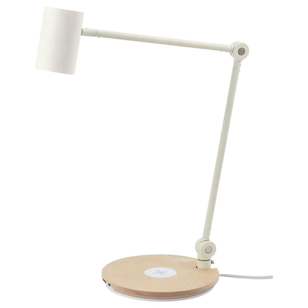 Ikea Riggad Led Work Lamp W Wireless Charging Work