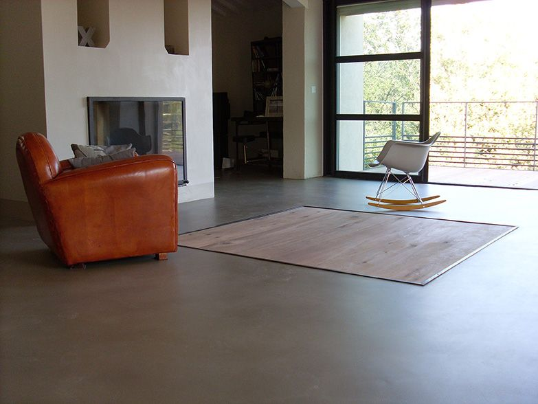 Mercadier Sol Coule Beton Colore Scbc Couleur Islay Www Mercadier Fr Concrete Floors Flooring Floor Colors
