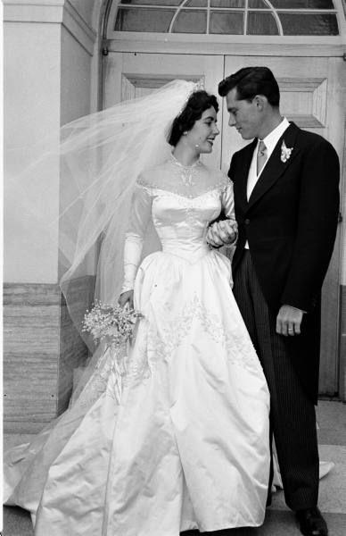 Celebrity Wedding Dresses 1950s