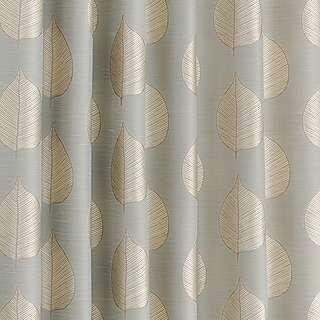 gold leaf print curtains dunelm mill living space. Black Bedroom Furniture Sets. Home Design Ideas