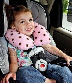 diy neck pillow for car seat stitch me sewing embroidery