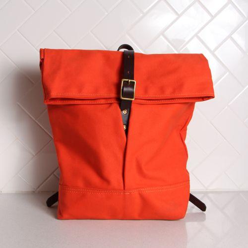 Rucksack Backpack - Orange