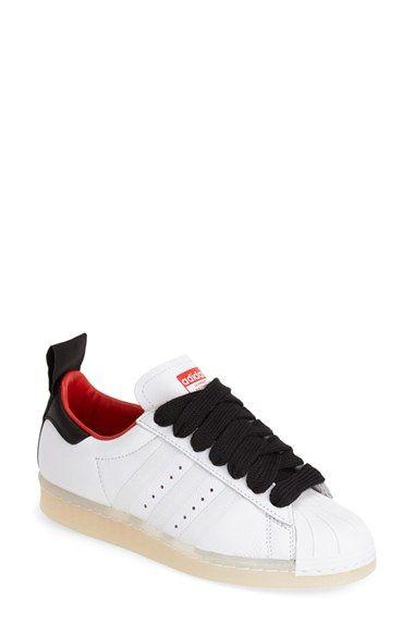 Topshop para Adidas Originals' SUPERSTAR 80 'Leather zapatilla ( mujer