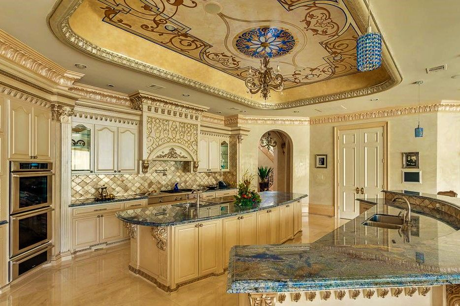 kitchen Fancy kitchens, House, Living room kitchen