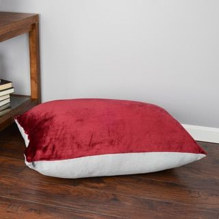 Shop for Oversized Plush Floor Pillow Cushion (28 x 36 inches). Free ...