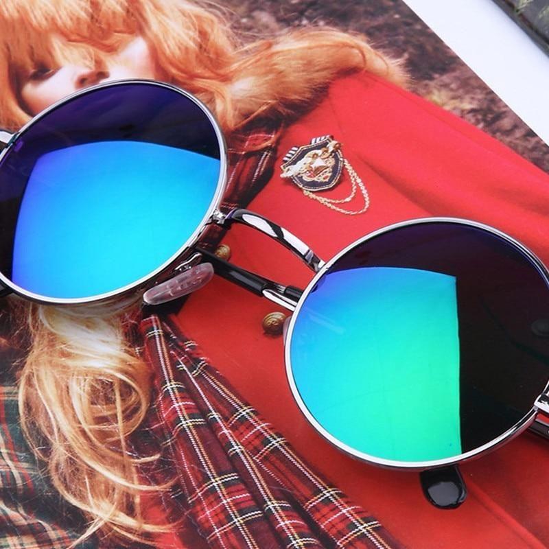 4656fbdb24 New Brand Designer Classic Polarized Round Sunglasses Men Small Vintag –  KOREAIDOLFEVER