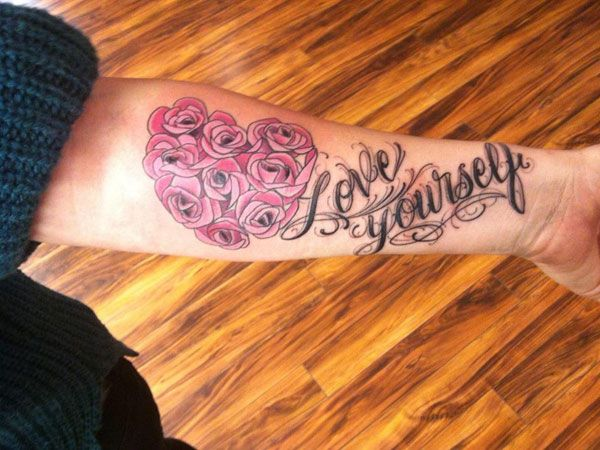 Love yourself rando ideas pinterest tattoo tatting and piercing love yourself urmus Image collections