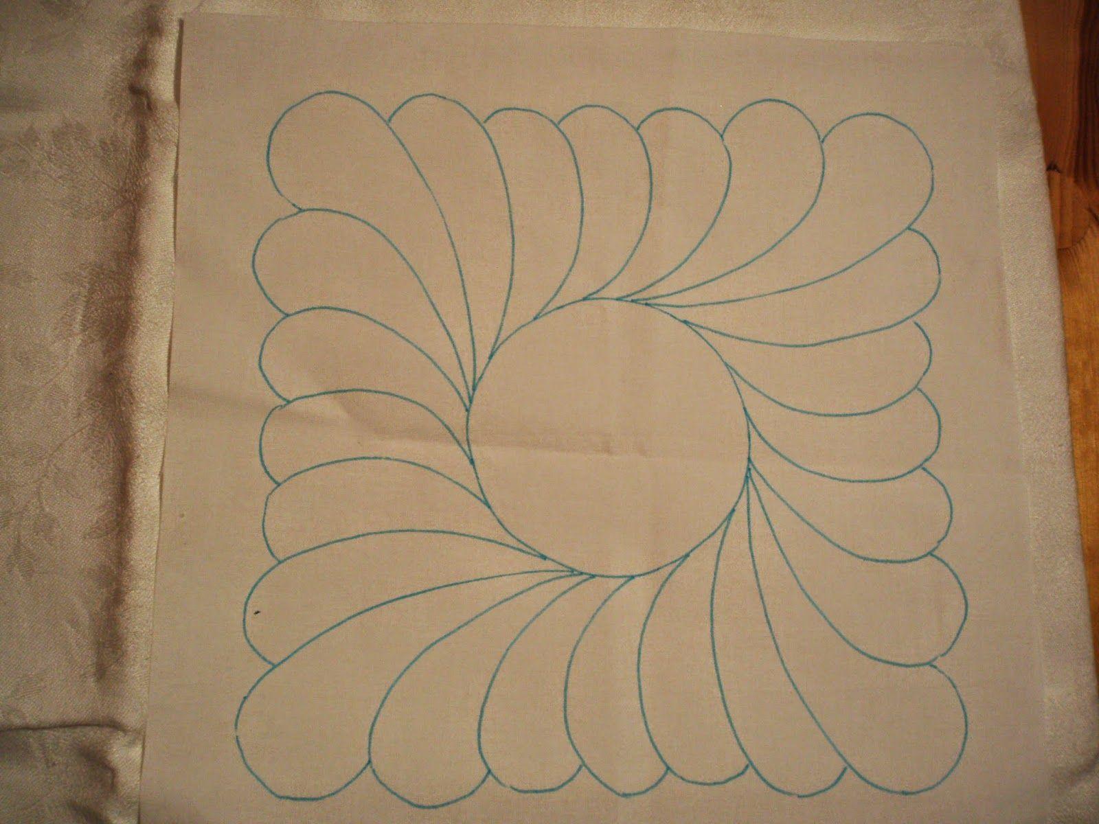 patchwork-bachovka: TRAPUNTO - návod na šitie
