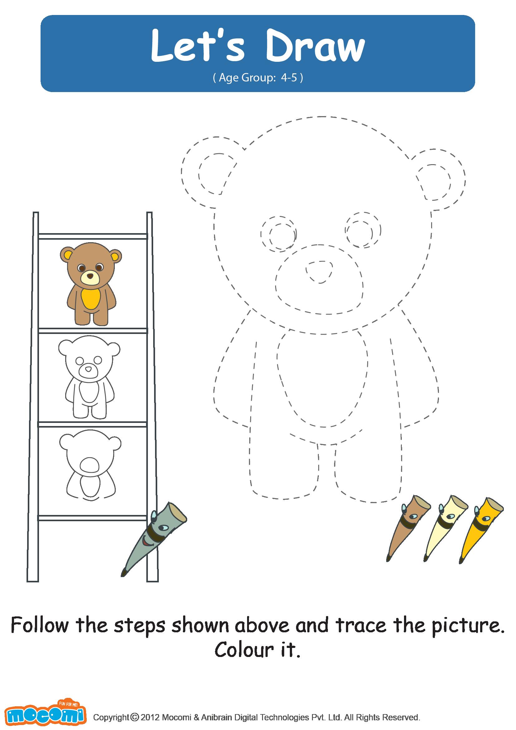 Let S Draw A Teddy