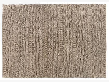 Braid Neutral Wool Blend Large Natural Wool Rug 170 X 240cm Habitatuk Natural Wool Rugs Natural Wool Braided Rugs