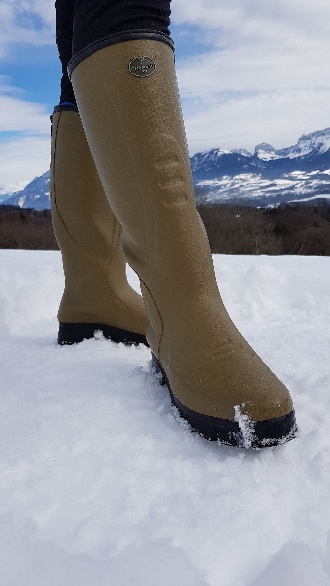 a34984d3363 LE CHAMEAU TRAQUEUR NEO | Wellies | Boots, Hunter boots, High boots