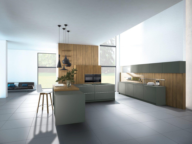 Grey Keuken Houten : Pronorm keuken houten beton antraciet keuken friesland