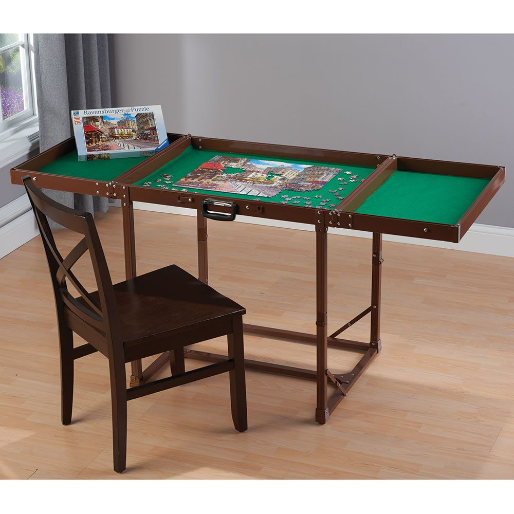 Concealed Puzzle Dining Table