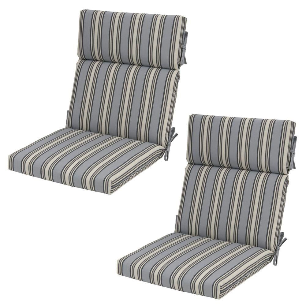 Miraculous Hampton Bay 21 5 X 20 Outdoor Dining Chair Cushion In Download Free Architecture Designs Ogrambritishbridgeorg