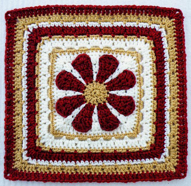 Pin von Preeti Raj auf Crochet Squares & other motifs   Pinterest
