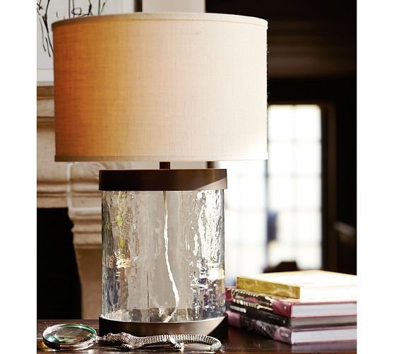 Murano Glass Table Lamp Base Pottery Barn House