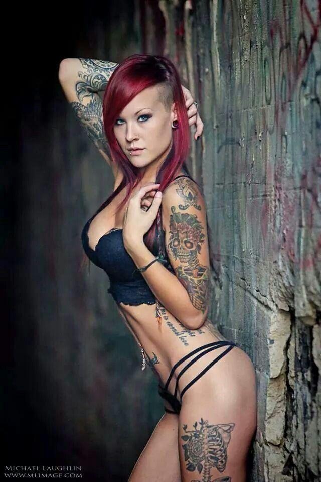 Sext Tattoo Girl  Tatt Chick  Girl Tattoos, Tattoos For -5509